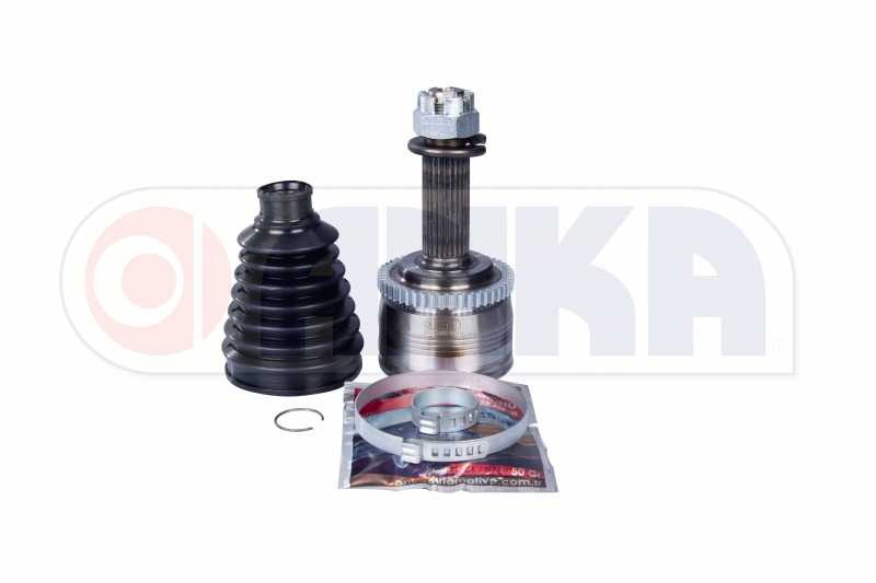 C.V.JOINT OUTER  (HYUNDAI:ACCENT BLUE 1.4 CVVT WITH ABS  ABS 48 TEETH 12=> )
